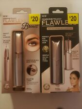 Finishing Touch Flawless Brows AND Finishing Touch Flawless Facial Hair Remover!