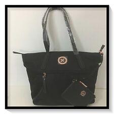 Mimco SPLENDIOSA TOTE Hand Bag BNWT BLACK ROSE GOLD