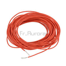 10M Red UL-1007 24AWG Hook-up Wire 80°C / 300V Cord Hook-up DIY Electrical