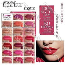 10 ~ AVON Perfectly Matte Lipstick SAMPLES Hen Party Travel Size ~ ALL DIFFERENT