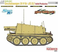 1/35 German Sd.Kfz.138/1 Geschutzwagen 38 H fur s.IG. 33/I ~ CyberHobby #6270