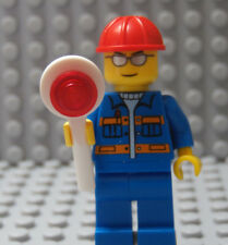Lego Classic City Town Construction Worker Flagger