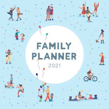 2021 Calendar Family Planner Square Wall Calendar by Paper Pocket 17164