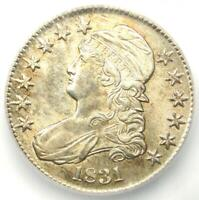 1831 Capped Bust Half Dollar 50C - ICG MS62 (UNC BU) - $1,650 Guide Value