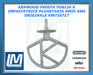 KENWOOD FRUSTA FOGLIA K PER IMPASTATRICE PLANETARIA KMIX KMA ORIGINALE KW716717
