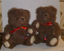 """2 Teddy Clemens """"eineiige Zwillinge""""  -  guter Zustand"""