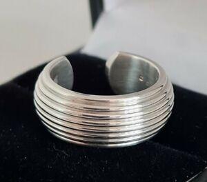 Designer sterling silver ring. By .Alias Theo Fennell .London 2011 .
