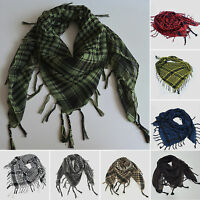 Mens Tactical Shemagh KeffIyeh Arab Scarf Army Military Desert Veil Wrap Scarves