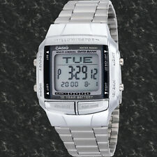 Casio DB360-1AV Men's Watch 30 Page Databank 13 Languages 10 Year Battery New