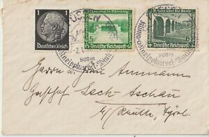 1935 GERMANY REICH MULTIFRANCHISING COVER