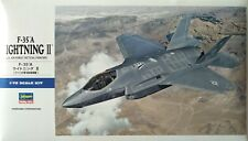 'F-35 A Lightning II' Model Hasegawa 1/72 Scale U.S. Air Force Tactical Fighter
