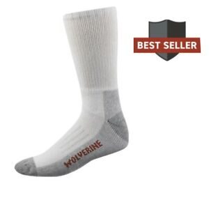 wolverine steel toe socks 2 Pairs LARGE Size 10-13