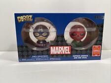 Funko Dorbz Marvel Captain America & Red Skull 2 Pack 2018 Summer Convention LE