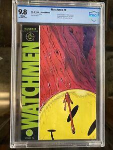 Watchmen 1 CBCS 9.8 (1986) 1st Rorschach Dr. Manhattan Ozymandias Silk Spectre
