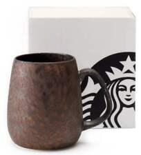 STARBUCKS Tokyo Meguro Store limited Coals Mug Aroma Wood Boxed 400ml New