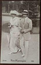 Ansichtskarte Unser Kronprinzenpaar Kronprinzessin Cecilie Wilhelm von Preußen