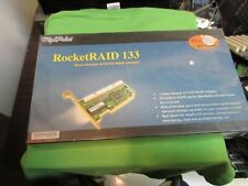 Highpoint RocketRaid Dual-Channel PCI IDE ATA133 Raid Controller Adapter
