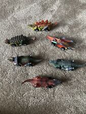 6pcs Cars Toys Pull Back Dinosaur 6 Pack Dinosaur Roadster Party Favors Game Toy