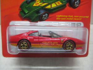 HOT WHEELS MINT ON CARD THE HOT ONES SERIES CHASE FERRARI 308 GTS !