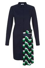 BNWT CUBIC EXPERIMENTAL FASHION PLEATED SKIRT DRESS SIZE UK 12 14 RRP £75