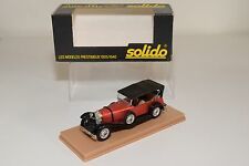 SOLIDO 137 MERCEDES BENZ SS TORPEDO RED NEAR MINT BOXED