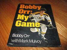 BOBBY ORR: MY GAME 1974 HC Book w/ Mark Mulvoy BOSTON BRUINS