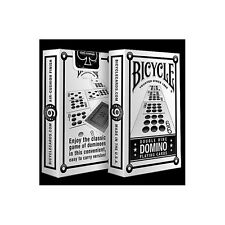 DOUBLE NINE DOMINO BICYCLE DECK PLAYING CARDS BY USPCC BRIDGE SIZE MAGIC TRICKS