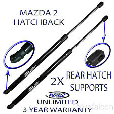 2 New Rear Hatch Liftgate Lift Supports Arm Rod For 2011-2015 Mazda 2 Hatchback