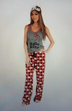 Hello Kitty 3 Piece Pajama Set : Plaid from Sanrio