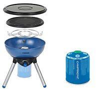 Campingaz Party Grill 200 CV Gasgrill mit CV 470 Plus Ventilkartusche Set Grill