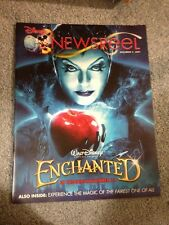 Disney Newsreel Enchanted Snow White / Ratatouille November 9, 2007