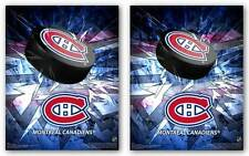 HOCKEY POSTER Montreal Canadiens 3D