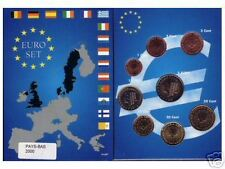 EURO PAYS-BAS 2005  SERIE COMPLETE 1 C A  2 € NEUVE