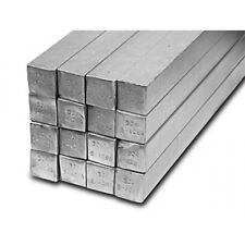 Barra Quadra in alluminio ANTICORODAL 50X50mm lunga a vostro bisogno Tornio/cnc