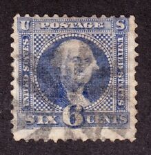 US 115 6c Washington Used F-VF appearing SCV $225