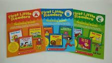 3 Teaching Guides First Little Readers Preschool Kindergarten Homeschool