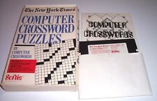 C64:  Computer Crossword Puzzles - Softie 1984