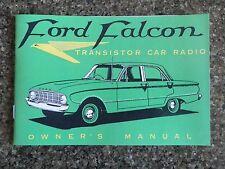 1960 FORD FALCON XK CAR RADIO SALES  BROCHURE.  100% GUARANTEE.