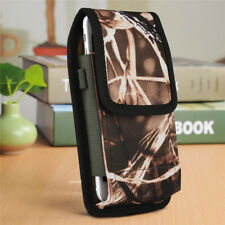 For Apple iPhone 5 6S 7 8 Plus X XS MAX XR Belt Clip Vertical Holster Pouch Case