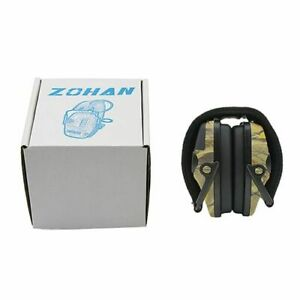 Tactical Electronic Earmuff Headphones Noise Reduction For Hunting Shooting