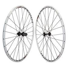White Mach1 Omega Wheels Road Bike Wheelset  28h 7-10, Sp QR Fits SRAM Shimano