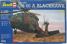 Revell 4094 - Hubschrauber Sikorsky UH-60 A BLACKHAWK - 1:100 - Helicopter - Kit
