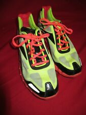 ~~REEBOK ZIG TECH PULSE Yellow Orange Sole Men's Running Shoes Sz 10 1/2~~