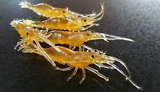25 pack!  Soft  Prawn Shrimp plastic Fishing Lure 65mm FishingTackle