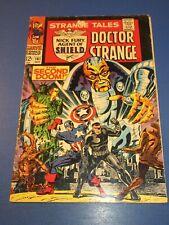 Strange Tales #161 Silver age Dr. Strange Nick Fury VGF Steranko Captain America