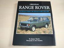 ORIGINAL RANGE ROVER CARBURETTOR MODELS 70-86 RESTORER'S JAMES TAYLOR BRAND NEW