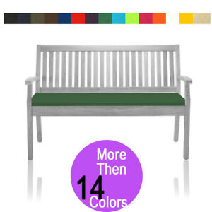 Garden Bench Cushion 2 & 3 Seater Outdoor Patio Furniture  Waterproof 6cm Thick