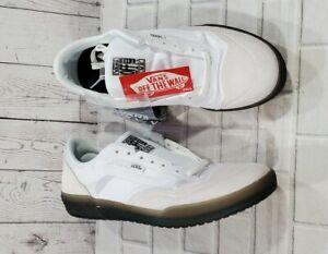 Vans Off The Wall AVE Pro Skateboard Shoe White Smoke MENS SIZE 6.5