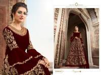 INDIAN ANARKALI SALWAR KAMEEZ SUITS WOMEN DESIGNER PAKISTANI WEDDING DRESS EID 1