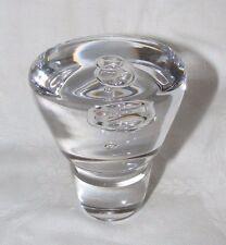 VINTAGE WEDGWOOD GLASS RONALD STENNETT WILLSON BUBBLE DECANTER STOPPER PERFECT